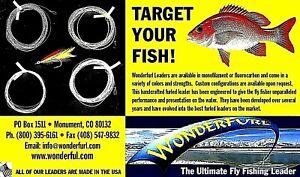Wonderfurl Pike/Musky/Bluefish Furled Leaders - Tie-able Stainless Steel Tippet