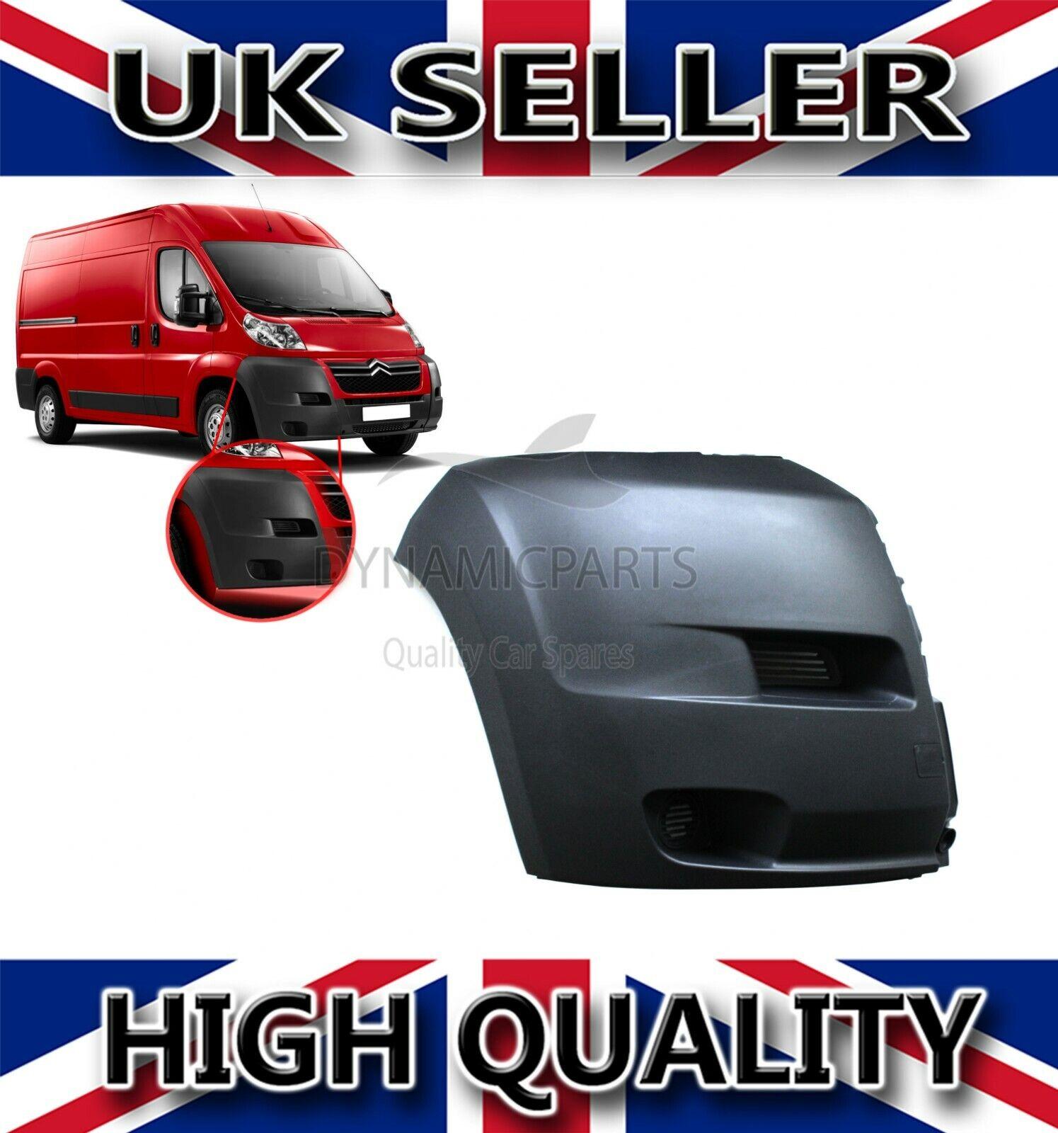 2006-2014 Peugeot Boxer Front Bumper End Corner Passenger Side New High Quality