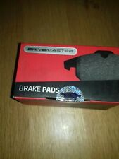 Drivemaster DMP044 Rear Brake Pads Fits Bosch System Not Prep For Wear Indicator