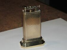 Dunhill Club on base gold plated engine turned lighter