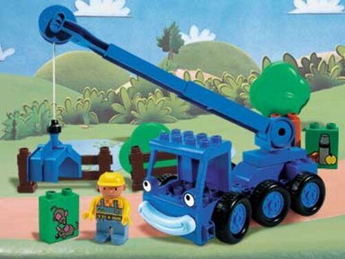 Lego 3273-Duplo Bob The Builder-bob, nobles y los ratones - 2001-Sin Caja