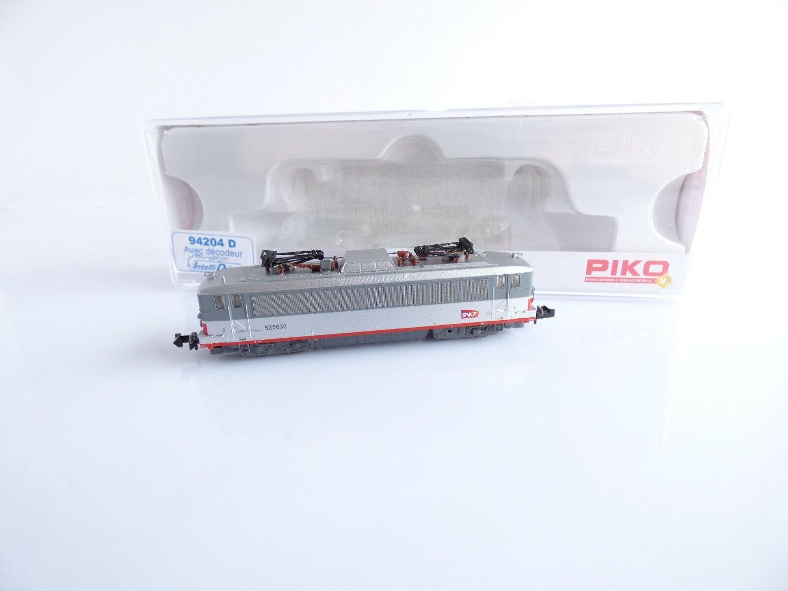 PIKO 94204 D LOCOMOTIVE ELECTRIQUE BB 525630 MULTI SERVICE SNCF ECHELLE N