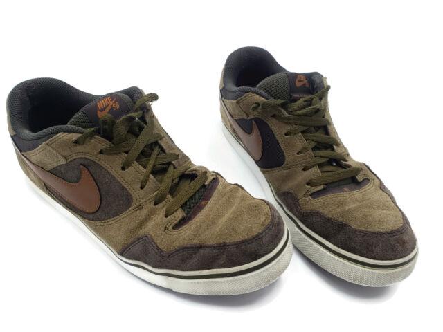 62fb430749d1 Nike SB Zoom Air Paul Rodriguez 2.5 Skateboard Skate Shoes Brown 386613-301