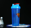 Super Heroes Shaker Bottle Stirring Ball Sports Whey Protein Powder Mixing DC