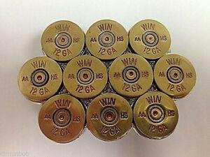 Hand-Made-12-Gauge-Shotgun-Shell-Belt-Buckle-Natural-Brass