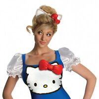 Hello Kitty Blue Classic Costume Hello Kitty Halloween Fancy Dress Size - S
