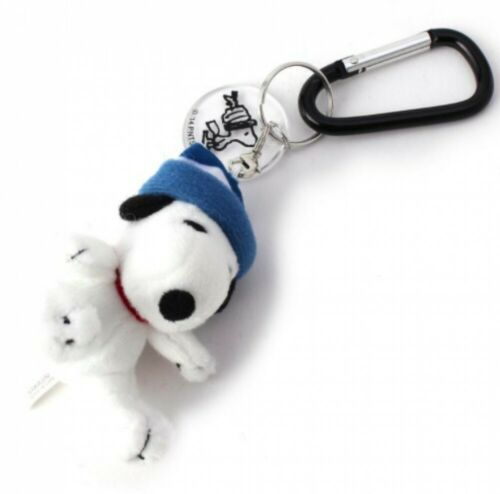 one/'sterrace PEANUTS SNOOPY With Hat Carabiner Key Chain Kawaii japan