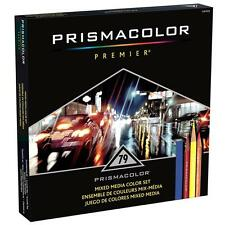 Prismacolor Mixed Media Color Set - Art Stix Verithin Watercolor Pencils - 79PC