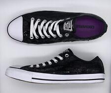 98a3d7c7a35a item 2 NEW Converse Mens 10 Womens 12 All-Star Chuck Taylor Sequin Shoes Black  136079F -NEW Converse Mens 10 Womens 12 All-Star Chuck Taylor Sequin Shoes  ...
