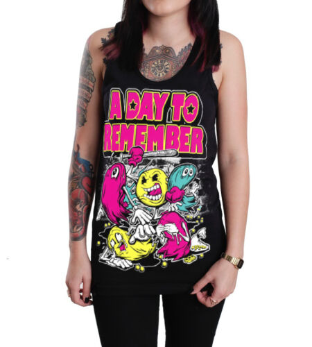 A Day To Remember Unisex Black Cotton Tank Top T-shirt