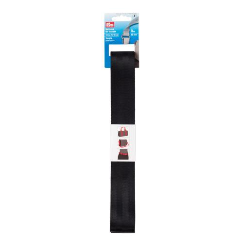 Prym 3m Gurtband für Taschen Rucksäcke ... 40 mm schwarz  965205