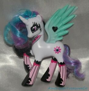 My Little Pony Mlp Fim G4 Tru Pony Mania 4 5 Princess Celestia Pegasus Unicorn Ebay