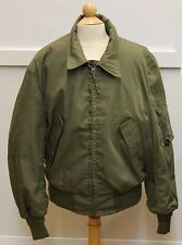 1986 US NOMAX Flight Jacket (High Temp Resistant) Sz. Small-Short 100% Aramid