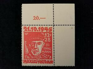 Deutschland-Alliierte-Besetzung-1945-MiNr-22-Opfer-des-Faschismus-Eckstueck
