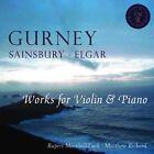 Sonata for Violin Piano in E Flat Major I Gurney 2014 CD Marshall