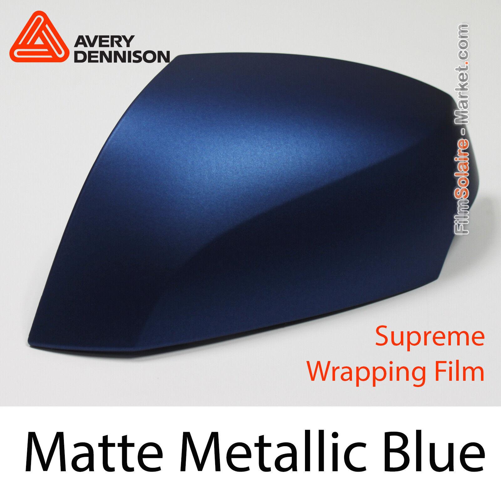 Matte Metallic Blau, Avery Dennison Supreme Wrapping Film, AS9080001