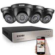 ZOSI HD 8CH 1080P HDMI DVR 1500TVL IR Outdoor CCTV Home Security Camera System