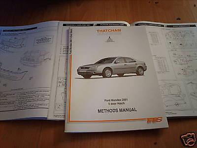 Body repair manual FORD MONDEO 5 portes berline 2001 sur