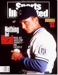 April 5, 1993 David Cone Kansas City Royals Sports Illustrated
