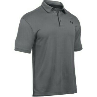 Under Armour UA 1290140 Men's Graphite Medium M Golf Tech Polo Shirt 190085448580 | eBay