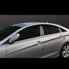 Smoke Window Vent Sun Visors Rain Guards for Hyundai YF Sonata 2011~2013