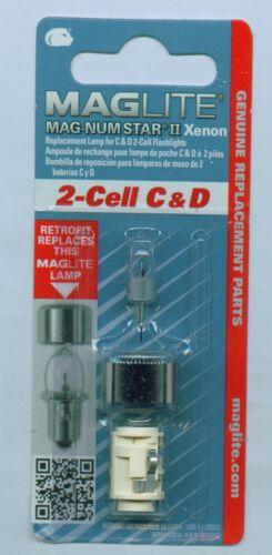 Ampoule de rechange MagLite 2-cell C D poire ampoule xénon