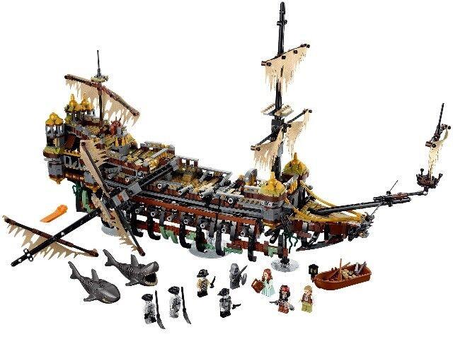 16042 MOC Pirate Ship The Slient Mary Set Blocks Bricks 2344pcs