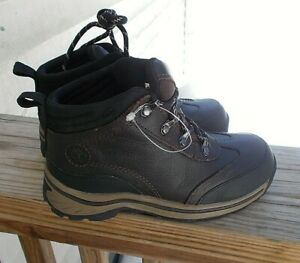 d13071664b6 Details about NEW TIMBERLAND Boy's Hiking Boots Size 12 Brown Nubuck Leather