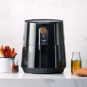 VonShef-Air-Fryer-Low-Fat-Healthy-Cooker-Oil-Free-Frying-Chip-Fry-Black-3-5L