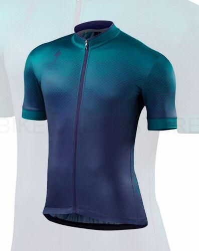 Medium Specialized Men/'s RBX Comp Short Sleeve Cycling Jersey Geo Deep Indigo