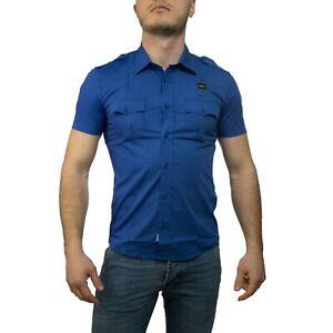 Blauer-Police-Camicia-Uomo-Col-e-tg-varie-NUOVA-COLLEZIONE-S-S-19