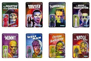8-Classic-Universal-Monsters-ReAction-Figures-Frankenstein-Dracula-Mummy-Wolfman