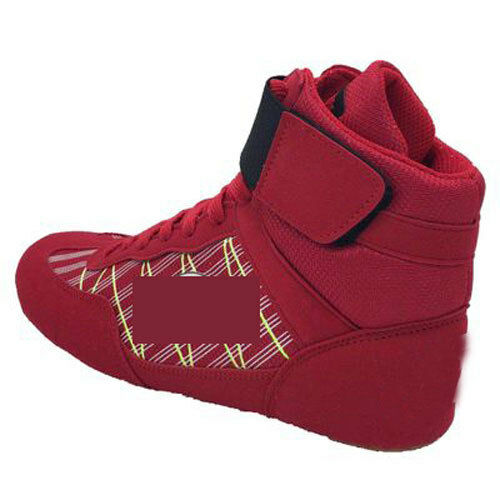 Mens MMA Gym Wrestling shoes Boxing Boots  Fitness trainer High top Athletic Gift  good quality