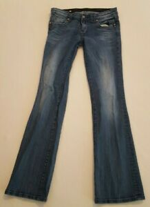 Rerock-for-Express-Boot-Cut-Jeans-Size-8L-8-Long
