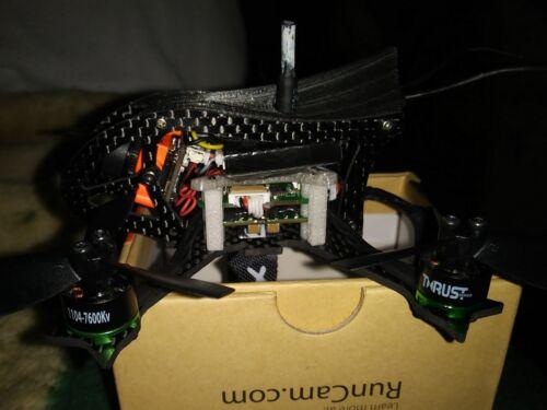 Lynx Black Gosh 2 FPV Racer Frame Uses Blade Torrent Components LX2598-3