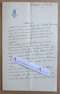 L-A-S-1873-Paul-de-TALLEYRAND-PERIGORD-Saint-Aignan-Gambetta-Raspail-Lettre