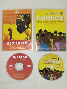 Lot-de-2-DVD-VF-Kirikou-Et-la-sorciere-Et-les-hommes-et-les-femmes-Envoi-suivi