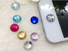 *Diamond Bling Home Button Stickers For iPod iPhone 3GS 4G 4S 5 5S