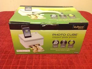 Vupoint Solutions Compact Photo Cube Ip P10 Vp Picture Printer