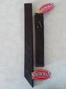 Brown-Nylon-Off-Side-Billet-Latigo-amp-Tie-Strap-For-Western-Saddle-Girth-Cinch