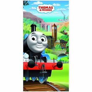 Thomas-amp-friends-Plage-Serviette-100-Coton-Enfants-Reservoir-Moteur