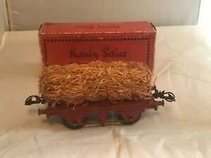 Brillant Vintage Hornby / Meccano O Gauge Rs 693 Tinplate Fibre Wagon In Orginal Box Les Clients D'Abord