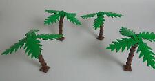 LEGO® Town Classic Stadt 4x Palme + braunen Stamm & kleine Blätter Grünzeug