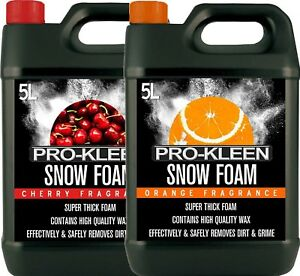 Car-Candy-Snow-Foam-shampoo-high-gloss-PH-Neutral-cherry-amp-orange-fragrance-10L