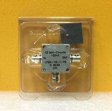 Mini-Circuits ZFDC-10-1-75, 1 to 400 MHz, 75 Ω, BNC, Coaxial Directional Coupler