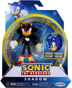 Sonic The Hedgehog Shadow Wave 1 Action Figure W Bendable Arms Legs 192995400542 Ebay