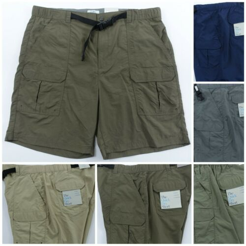 Men Performance Shorts Cargo Quick Dry Wicking Lightweight Croft and Barrow