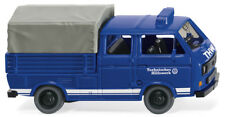 WIKING 029350 H0-VW T3 Doppelkabiner Trans.Schlotmann