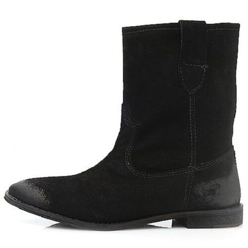 NIB COCONUTS BY BY BY MATISSE JED SUEDE LEATHER PULL ON MID CALF DISTRESSED BOOTS 9.5 96d10f