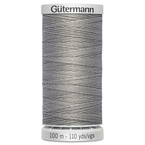 Sewing /& Upholstery Gutermann Extra Strong Thread 100m Reel All 45 Colours